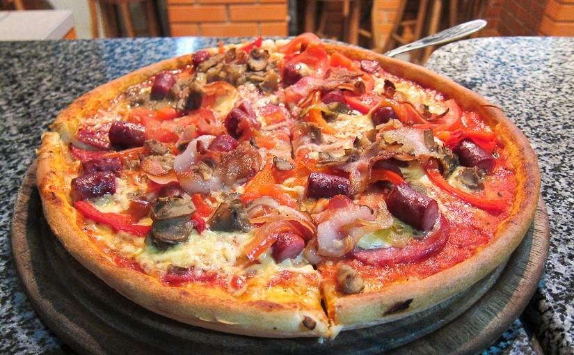 Bon Appetit: №41: Ресторан быстрого обслуживания «Пицца Челентано», ул. Михаила Коцюбинского, 14 (Киев)