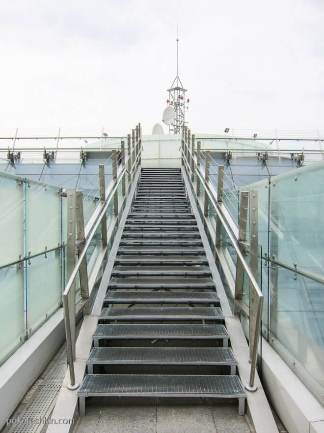 Лестница на обзорную площадку