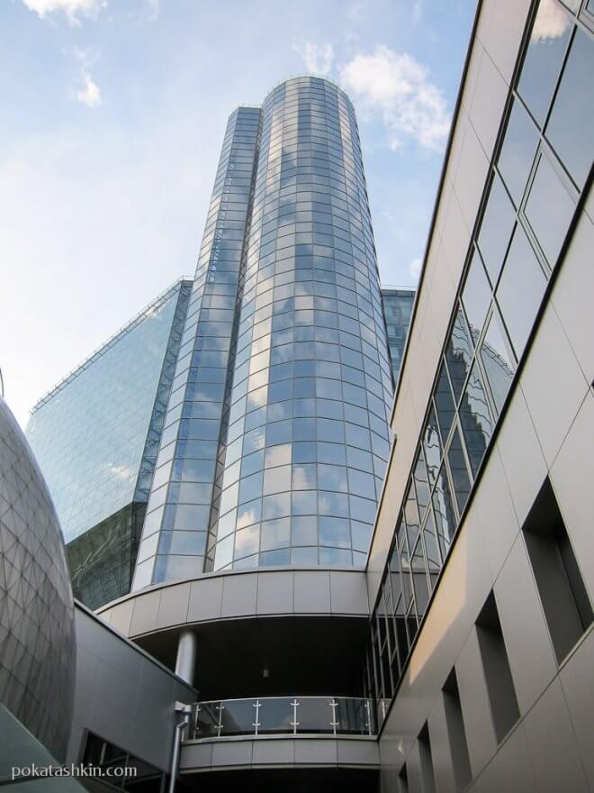Лифт на обзорную площадку Национальнаой библиотеки Беларуси