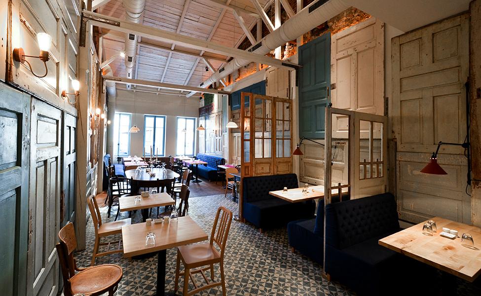 Оформление ресторанов дизайн