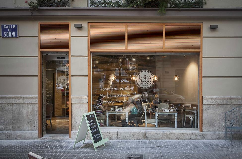Пекарня La Petite Brioche в Валенсии
