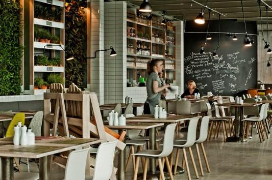 Ресторан Mercado в Братиславе