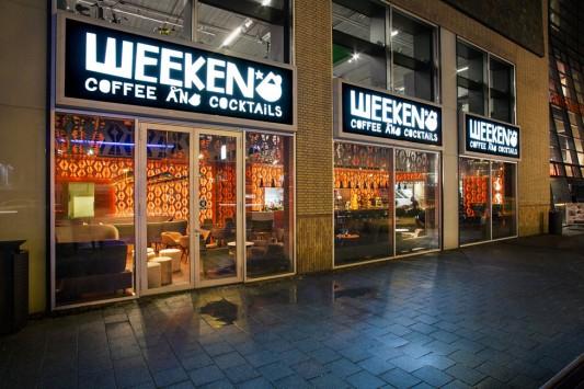 Коктейльный бар Weekend в Амстердаме