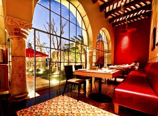 Итальянский ресторан в Мексике