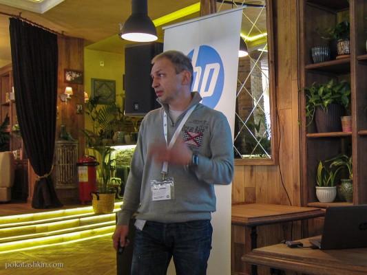 Сергей Судленков, ведущий специалист по системам хранения данных представительства HP в Республике Беларусь