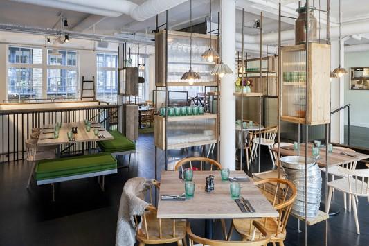 Ресторан Whyte & Brown в Лондоне