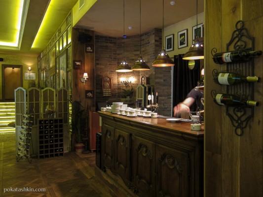 Интерьер. Ресторан «Grand Bellagio» / «Гранд Беладжио» (Минск)