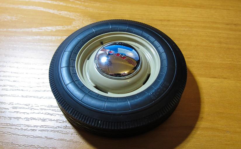 Модель автомобиля ГАЗ-М-20 «Победа» (№2): Правое переднее колесо