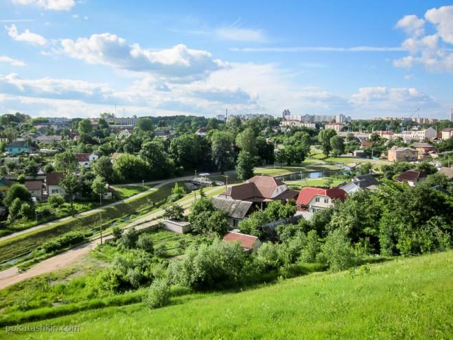 Вид на город, Могилёв