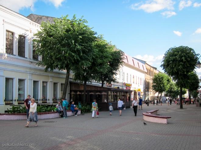 Ленинская улица (пешеходная), Могилёв