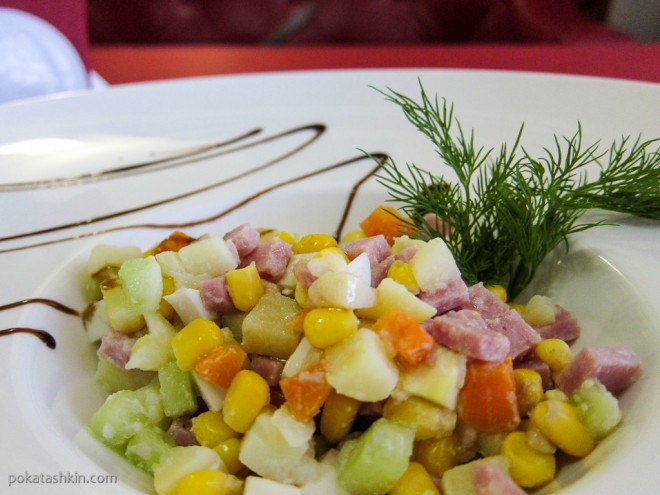 Ресторан «Альфонсо» (Гомель): Салат