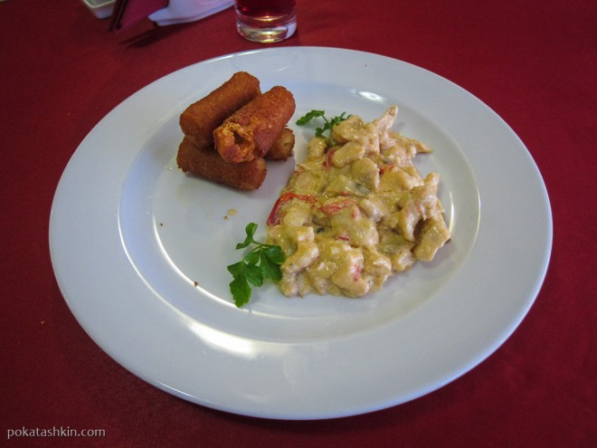 Ресторан «Альфонсо» (Гомель): Картошка и жаркое
