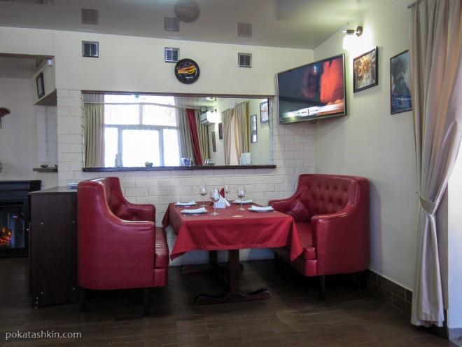 Ресторан «Альфонсо» (Гомель): Интерьер