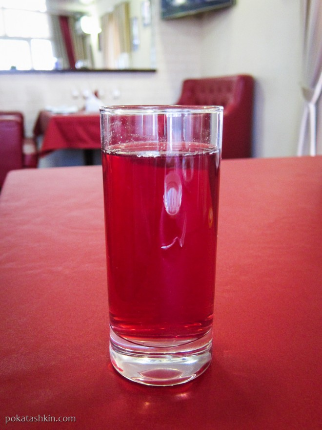 Ресторан «Альфонсо» (Гомель): Напиток из вишни