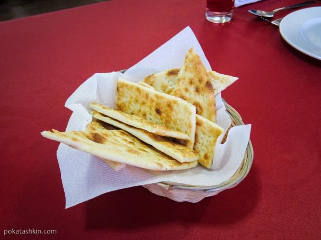 Ресторан «Альфонсо» (Гомель): Хлеб