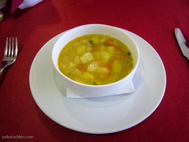 Ресторан «Альфонсо» (Гомель): Гороховый суп
