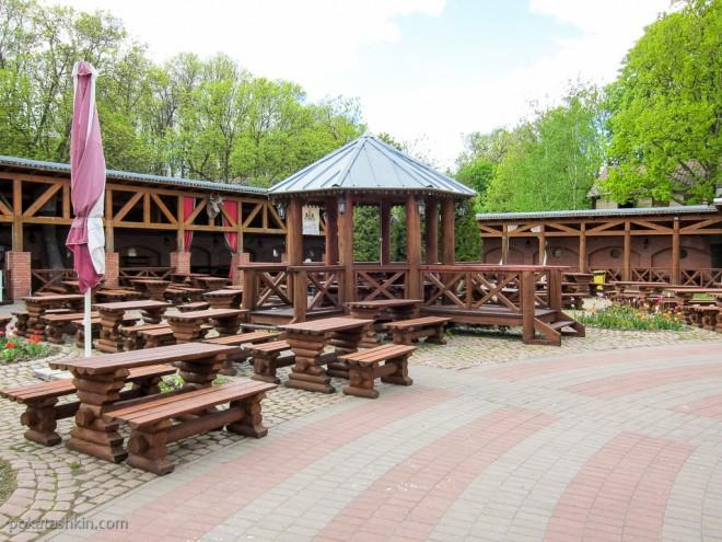 Летняя терраса ресторана «Золотой лев» (Витебск)