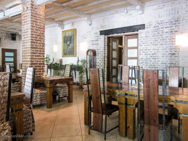 Интерьер ресторана «Золотой лев» (Витебск)