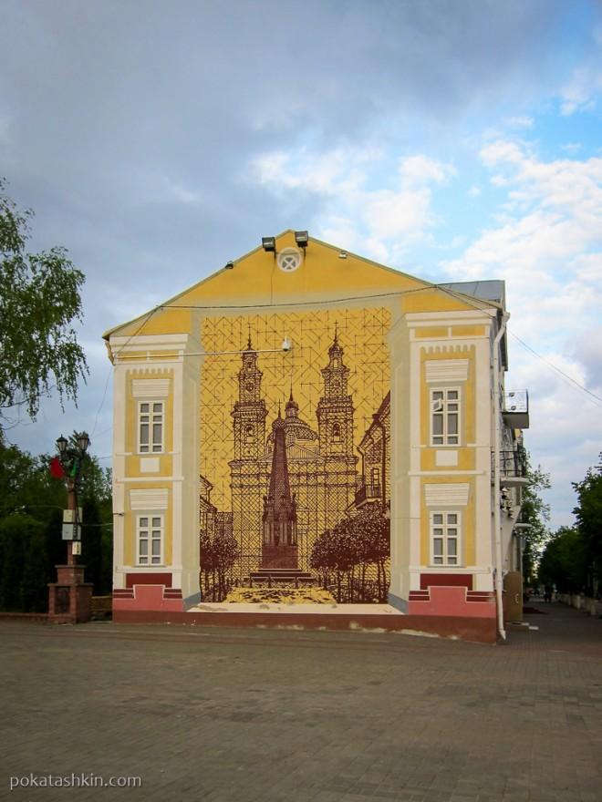 Изображение костёла святого Стефана в Пооцке