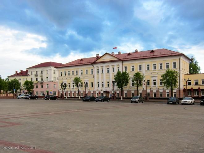 Площадь Свободы - центральная площадь Полоцка