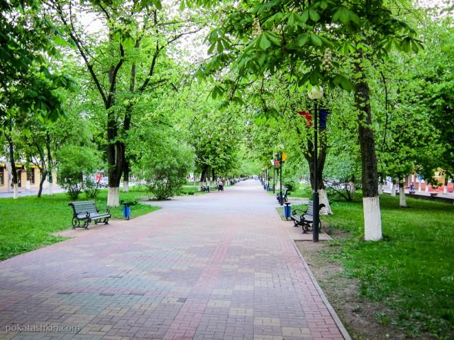 Тихие улицы Полоцка