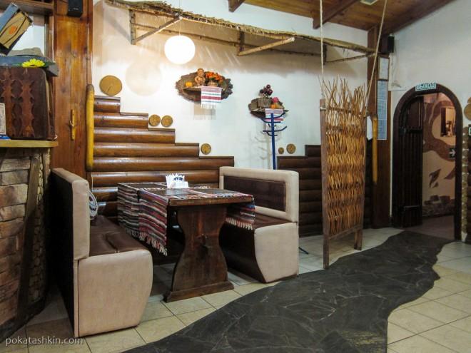 Интерьер кафе-бара «Полешук» (Гомель)
