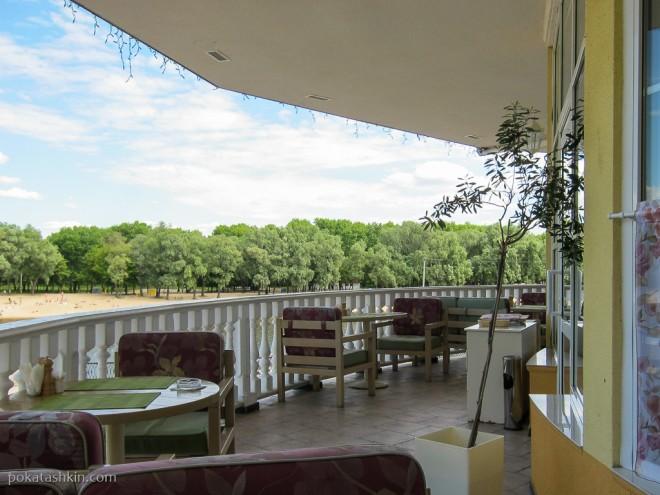 Балкон в ресторане «Прованс» (Гомель)