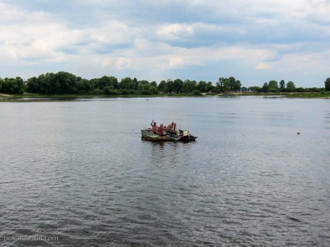 Прогулка на катере по Притяти, Мозырь