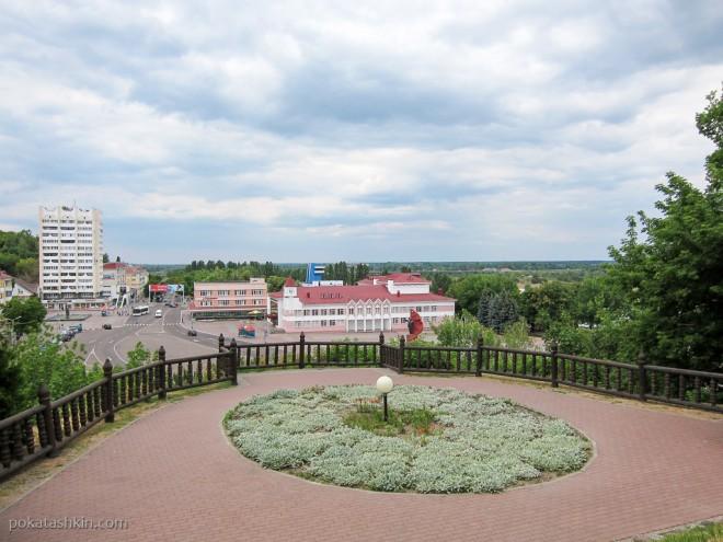 Обзорная площадка Мозырского замка