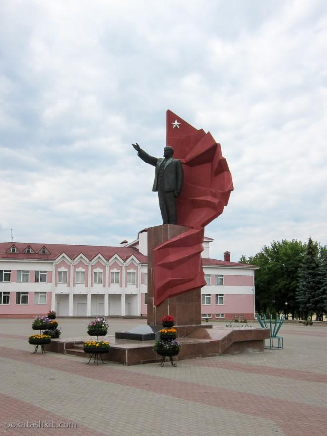 Памятник В.И. Ленину в Мозыре
