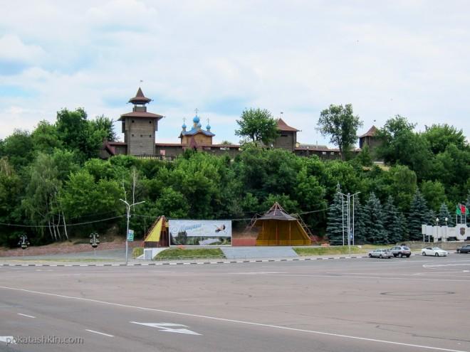 Мозырский замок на Замковой горе