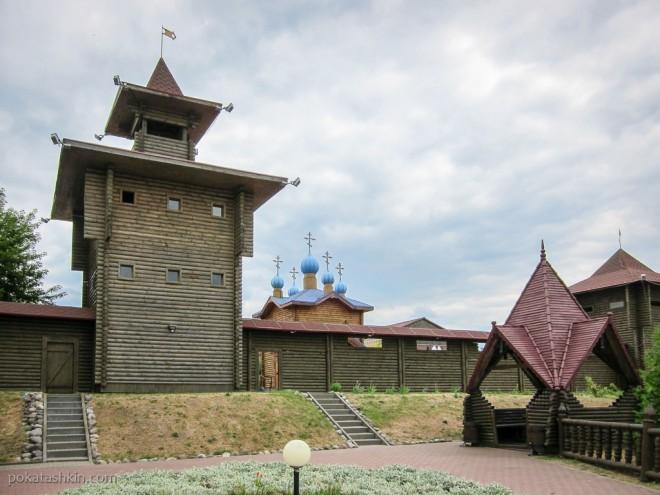 Оружейная башня, Мозырский замок