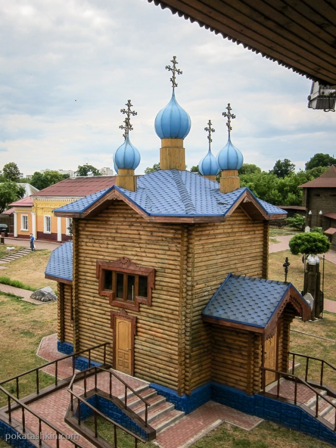Церковь Святого Спаса, Мозырский замок