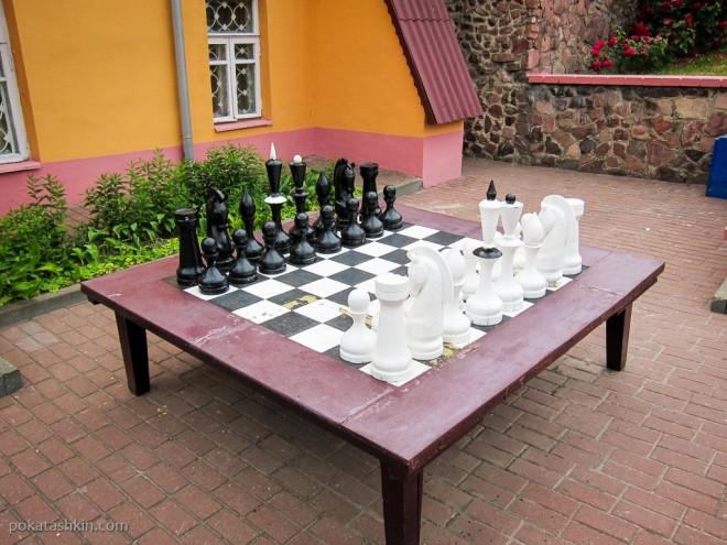 Огромные шахматы, Мозырский замок