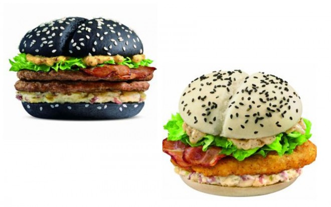 Black and White Burgers
