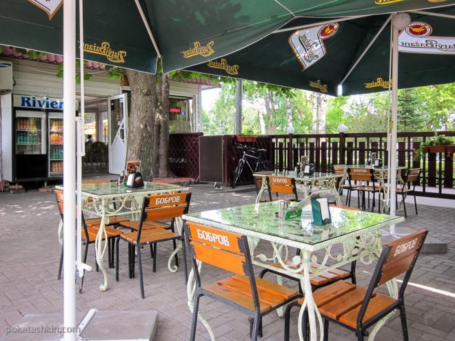 Летняя площадка в кафе «Ривьера» (Гомель)