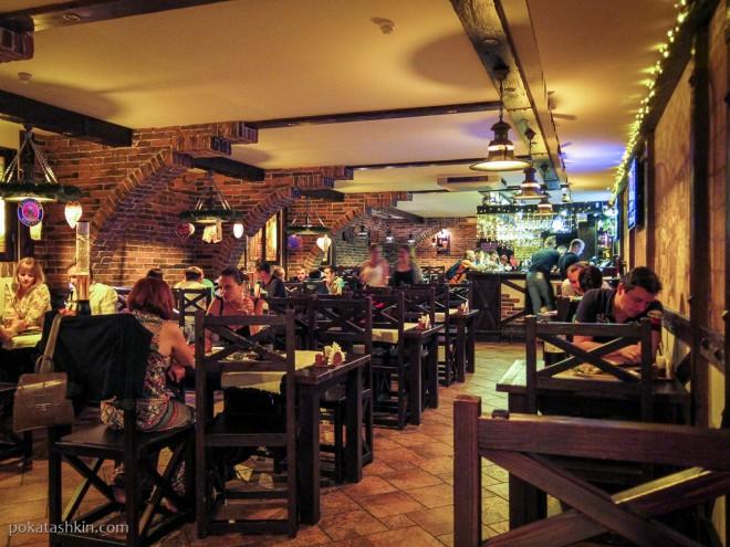 Интерьер пивного ресторана «Нёман» (Гродно)
