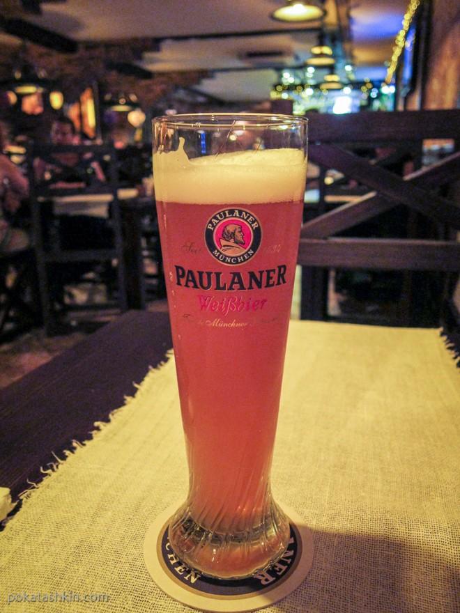 Разливное пиво Paulaner Weissbier Naturtrüb