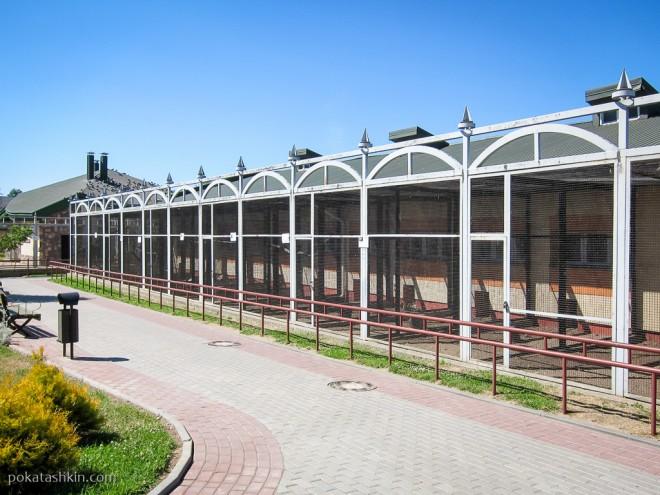 Территория Гродненского зоопарка