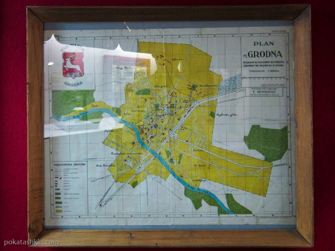 Карта Гродно