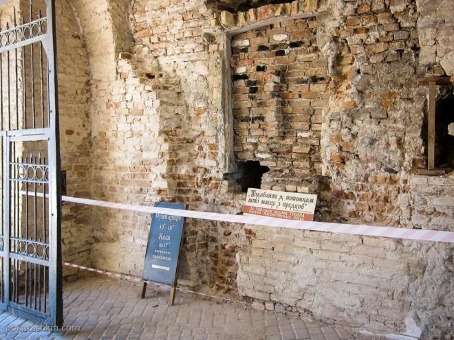 Стены Старого замка в Гродно