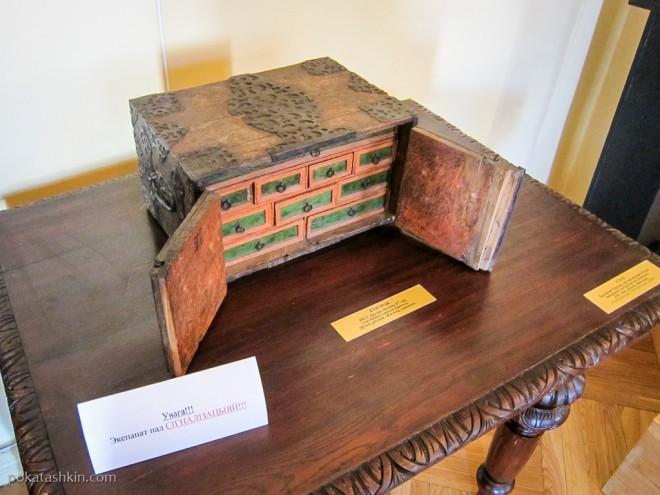 Сундучок, вторая половина XVII века