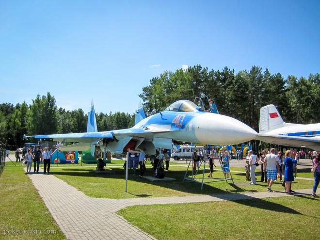 Музей авиационной техники на Боровой в Минске