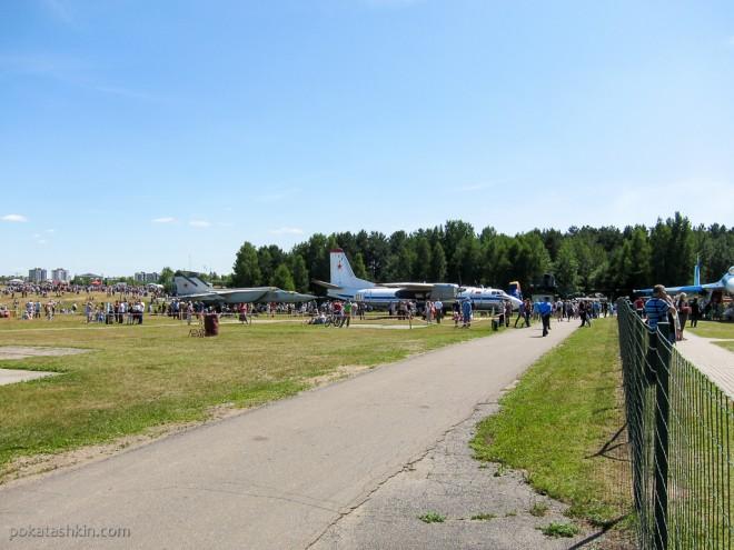Фестиваль авиационного спорта «Мирное небо» в Минске