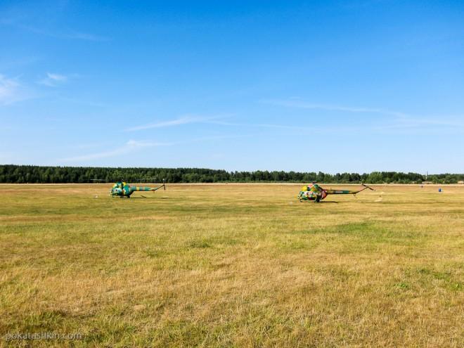 Вертолётные гонки