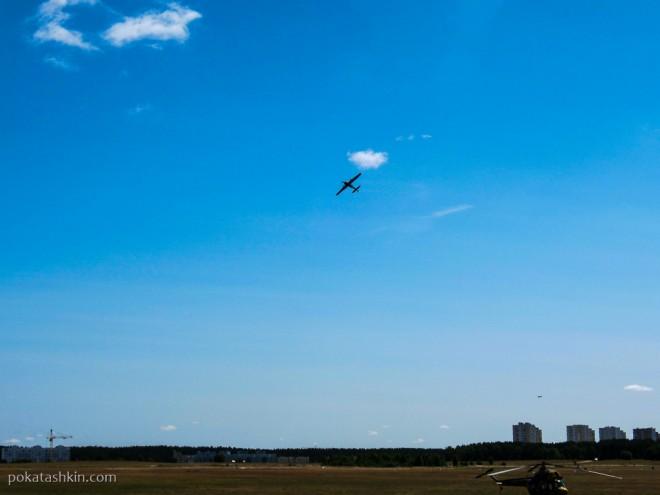 Полёт на Як-52