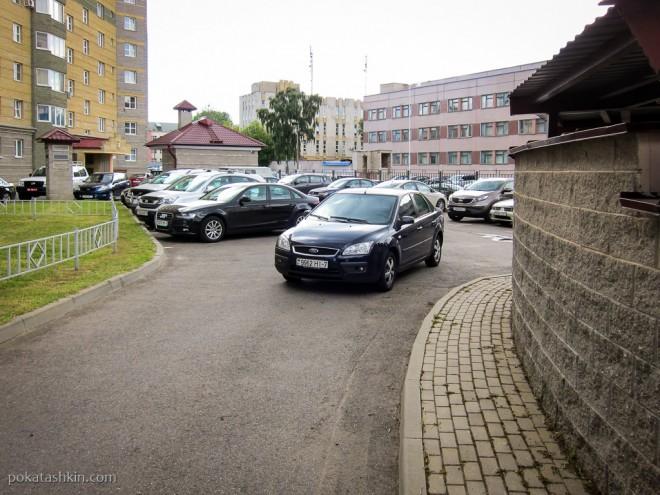 Я паркуюсь, как хочу: место для подвига