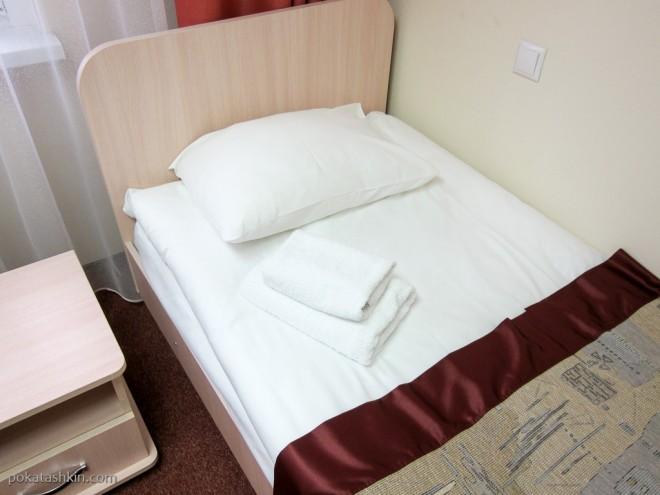 Одноместный номер в гостинице «Холт Тайм» / Halt Time Hotel ** (Минск)