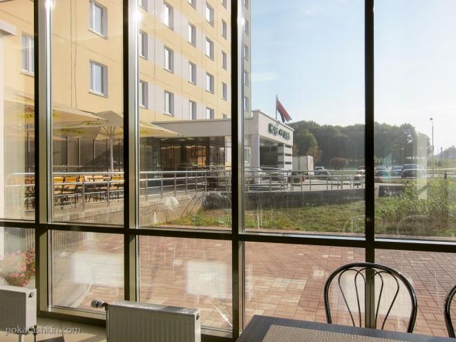 Завтрак в гостинице «Холт Тайм» / Halt Time Hotel ** (Минск)