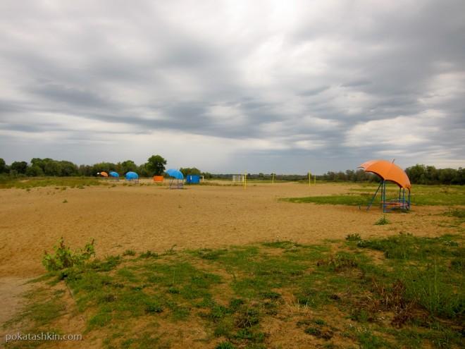 Пляж в Речице